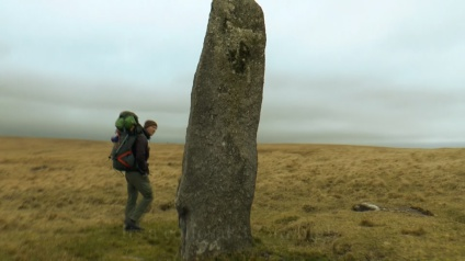 Beardown Man Standing Stone, Devils Tor, Dartmoor, Antiquities