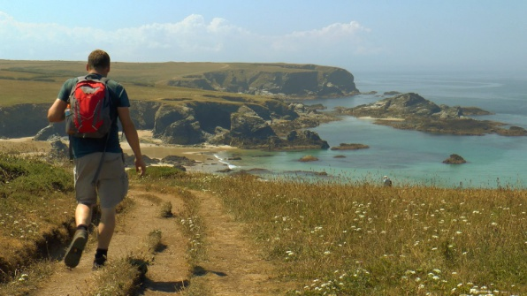 North Cornwall South West Coast Path, Newquay