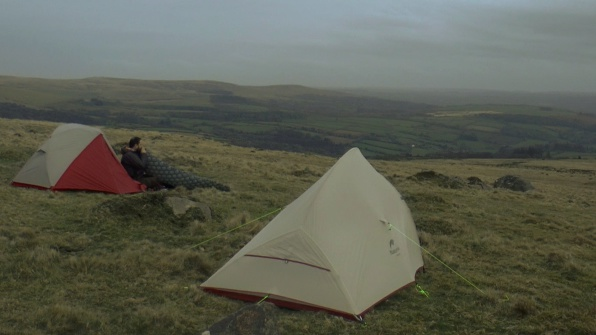 Naturehike and MSR Elixir backpacking tents, Wild camping on Dartmoor