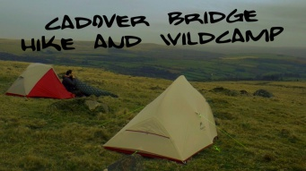 Dartmoor Hiking and Wild camping in Extreme Weather and strong winds