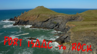 Port isaac to Rock, North Cornwall walk, South West Coast Path, summit or Nothing