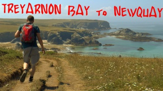 Treyarnon Bay, Newquay, surfing, cornwall, walking, summit or nothing, hiking
