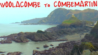 woolacombe to combe martin, north devon, south west coast path, summit or nothing