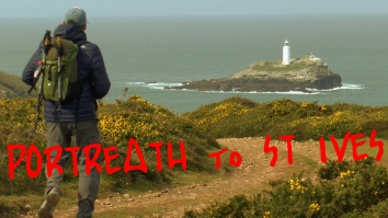 st ives, south west coast path, cornwall, lighthouse,