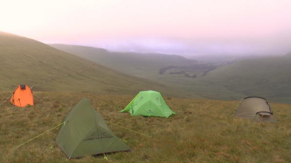 Wild Camping on Pen Y Fan in the Brecon Beacons