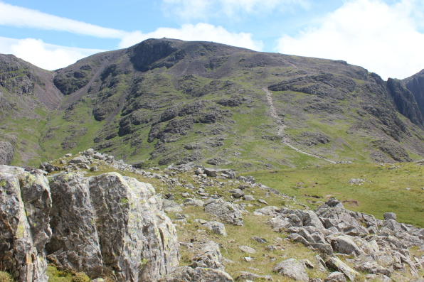 Scafell Pike Lake District England's highest mountain