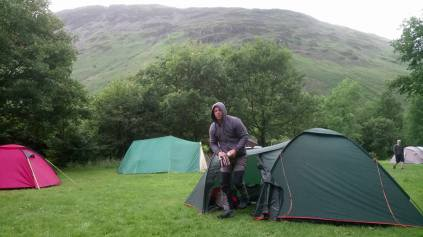Wasdale National Trust Campsite near Scafell Pike
