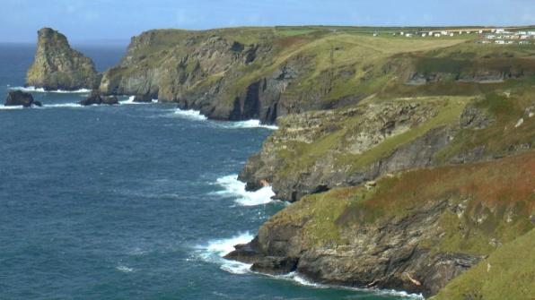 South West Coast Path, Trevalga from Bossiney