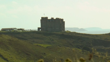 Camelot Castle Hotel, Tintagel, South West Coastal Walk,
