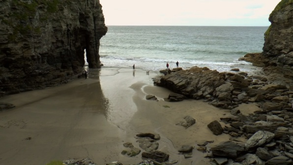 Bossiney Cove, Near Tintagel, South West Coastal Walks
