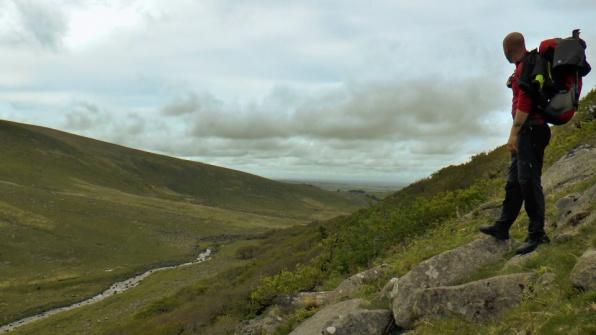 Hiking On Dartmoor, Black-a-Tor Copse, West Okement River