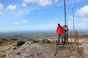 dartmoor walk, Yes Tor, High Willhays, Highest Points
