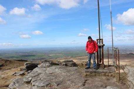 Yes Tor, one of the highest Tor's on Dartmoor, walks on Dartmoor