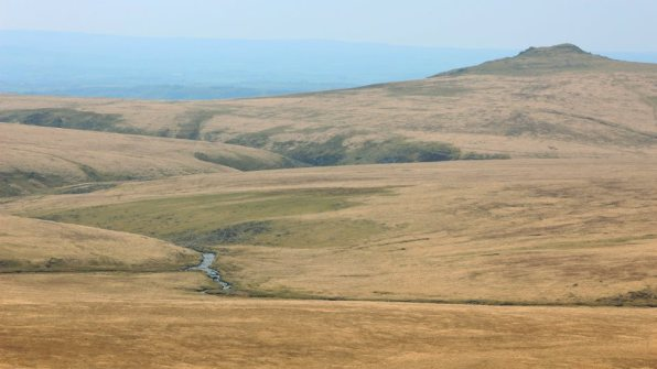 Hare Tor and the TAvy Cleave Valley, as taken from Fur Tor, Dartmoor