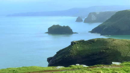 Tintagel to Boscastle, South West Coast Path, Film Location The Kid Who Would Be King