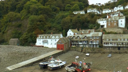 The Harbour at Clovelly North Devon