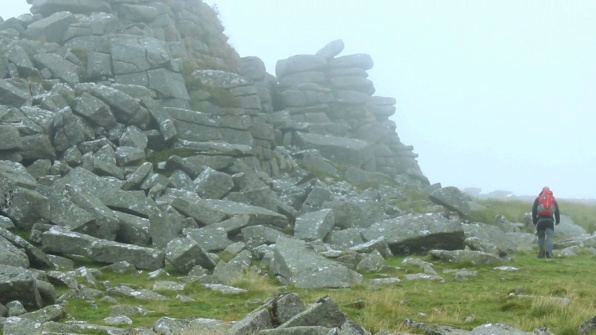 Higher Tor, Dartmoor walks near Okehampton