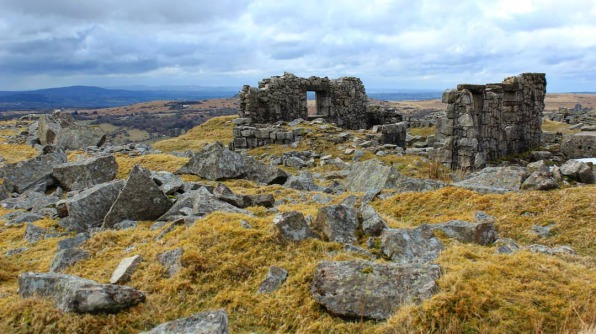 Swelltor Quarry Ruins - Dartmoor