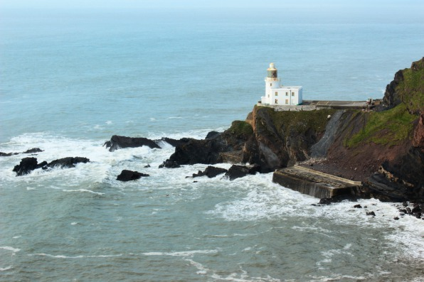 Hartland Lighthouse on the South West Coast