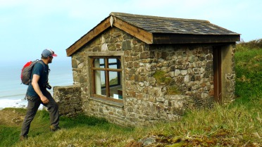 Ronald Duncan's Hut, South West Coast Path
