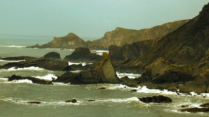 Rocky Coast, Hartland Quay, South West Coast Path