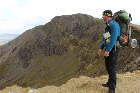 Cadair Idris hike and Navigation