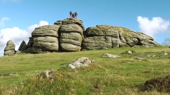 Saddle Tor near Haytor, South Devon