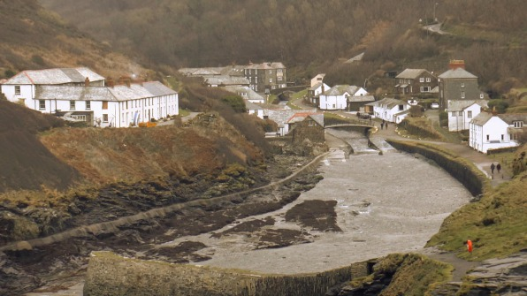 Boscastle Fishing Village and Port