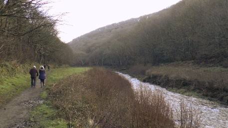 Boscastle, Valency Valley, Riverside walk