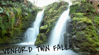 The Venford Twin Falls, Dartmoor