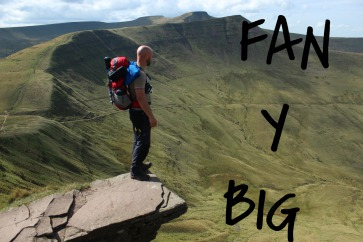 Fan Y Big Diving Board, Hiking on the Brecon Beacons, Summit or Nothing