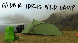 Cadair Idris Mountain Top Wild Camp