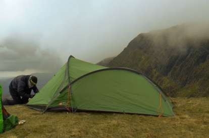 Vango Mirage 200 Cadair Idris Wild Camp