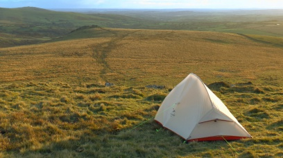 Wild Camping UK, Dartmoor wild camp, NaturehikeUltralight tent