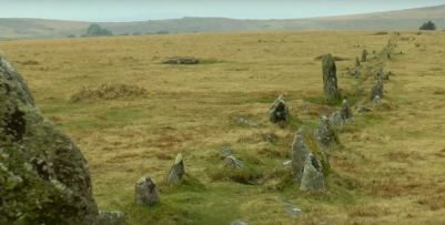 Dartmoor antiquities, Merrivale Stone Row