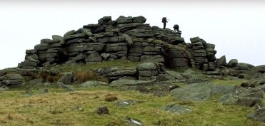 Middle Staple Tor, Dartmoor walk, Merrivale